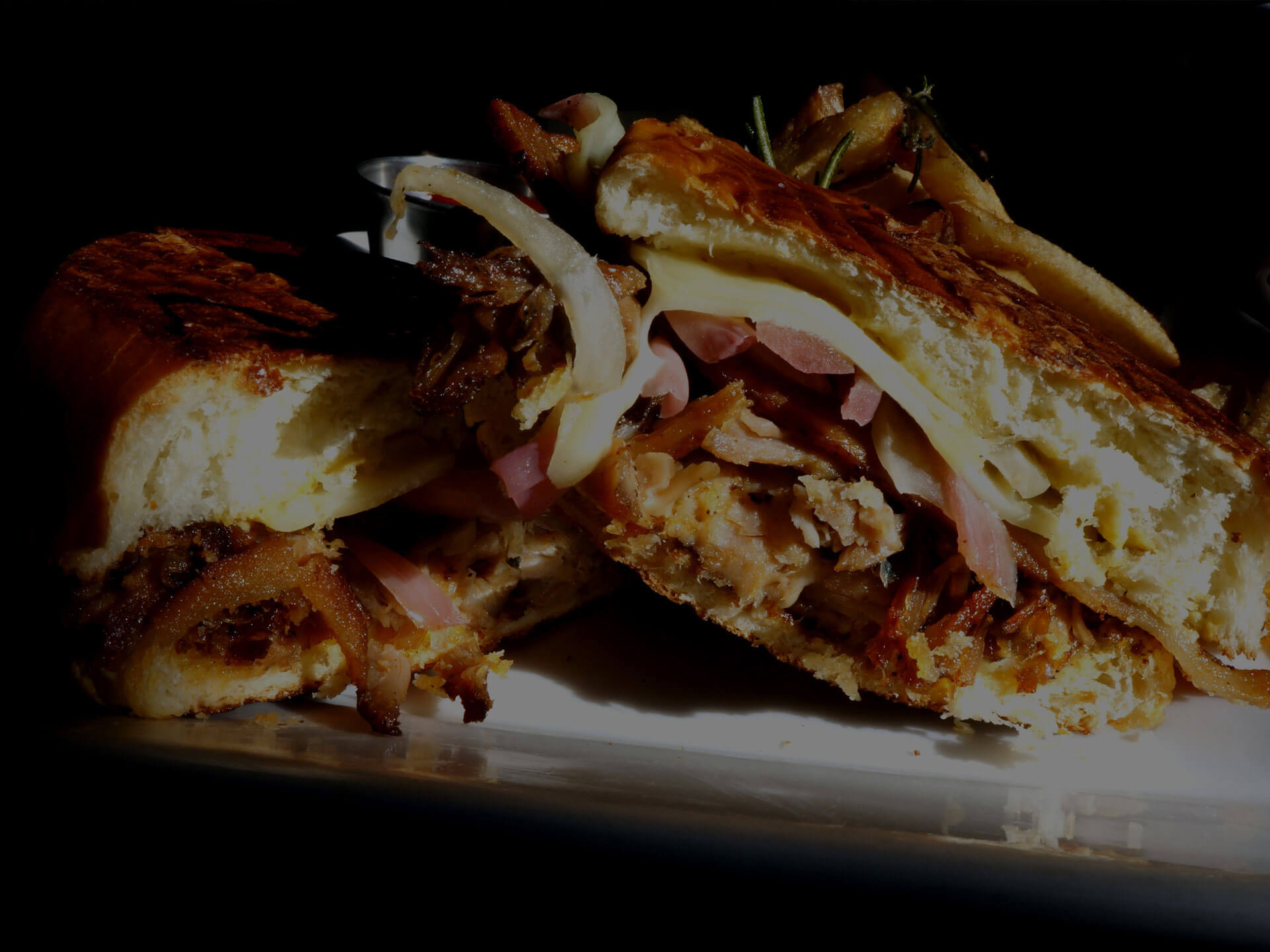 Flat Iron Cuban Sandwich